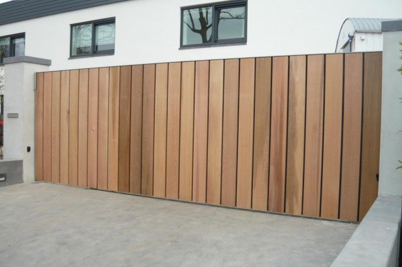 Beste Hoogwaardige houten poorten   Buitenschrijnwerk.eu RU-63